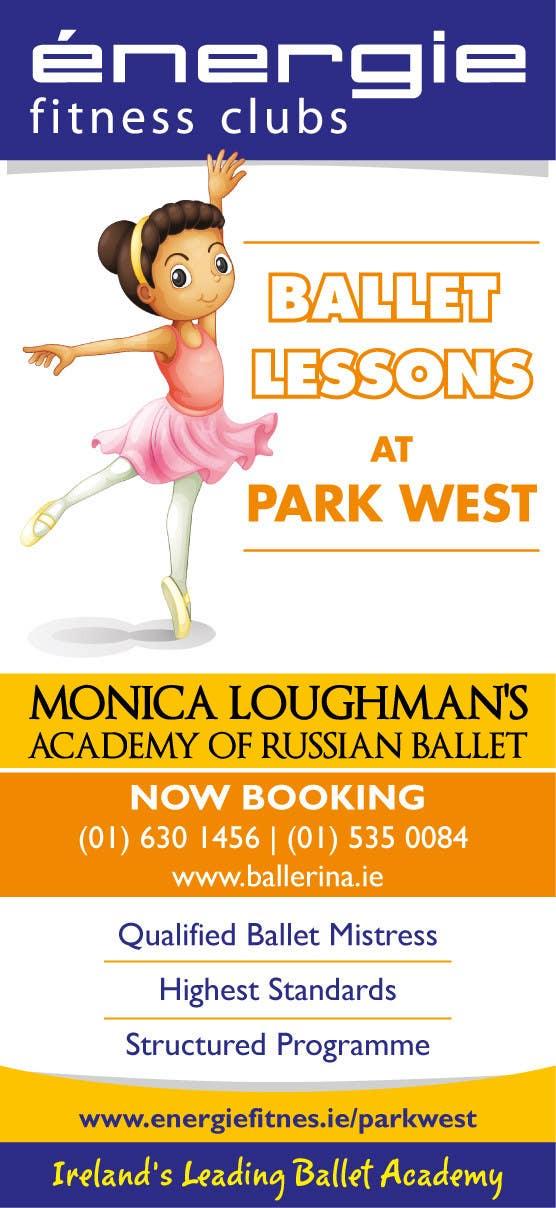#37 for Design flyer for ballet school by samazran