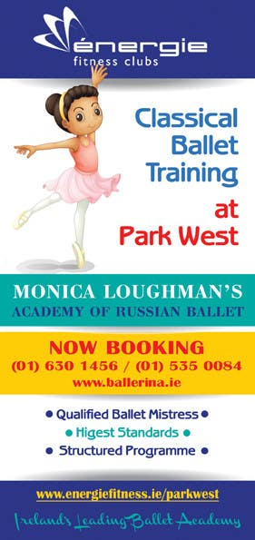 #38 for Design flyer for ballet school by BuDesign