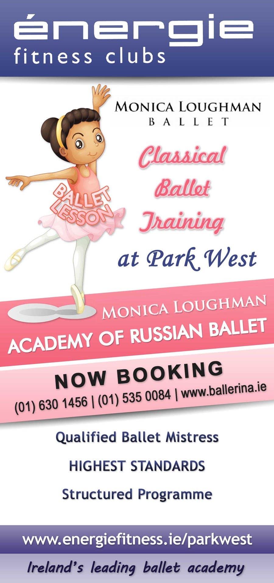 #30 for Design flyer for ballet school by stniavla