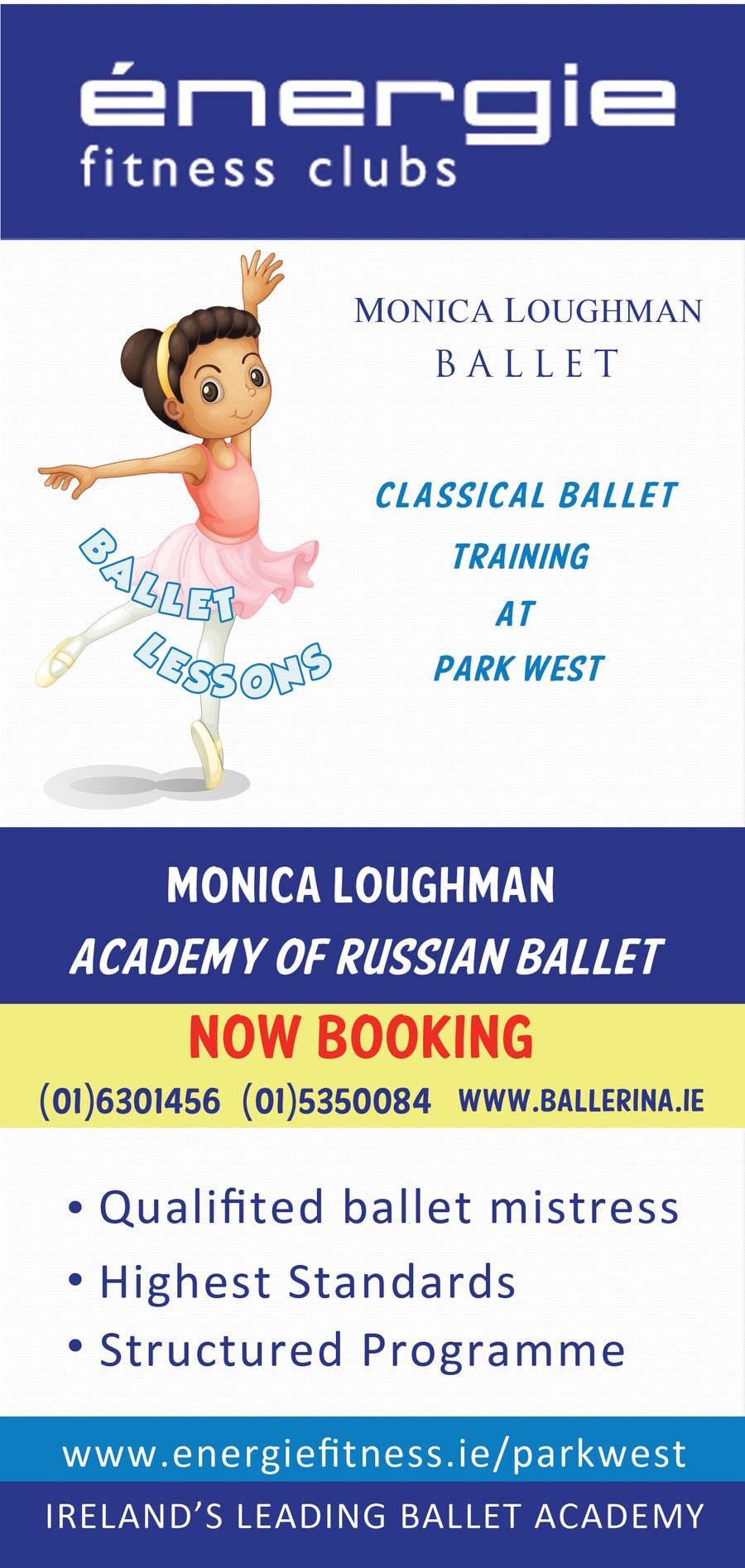 #8 for Design flyer for ballet school by KremMtv