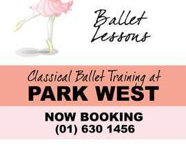#3 cho Design flyer for ballet school bởi dgital