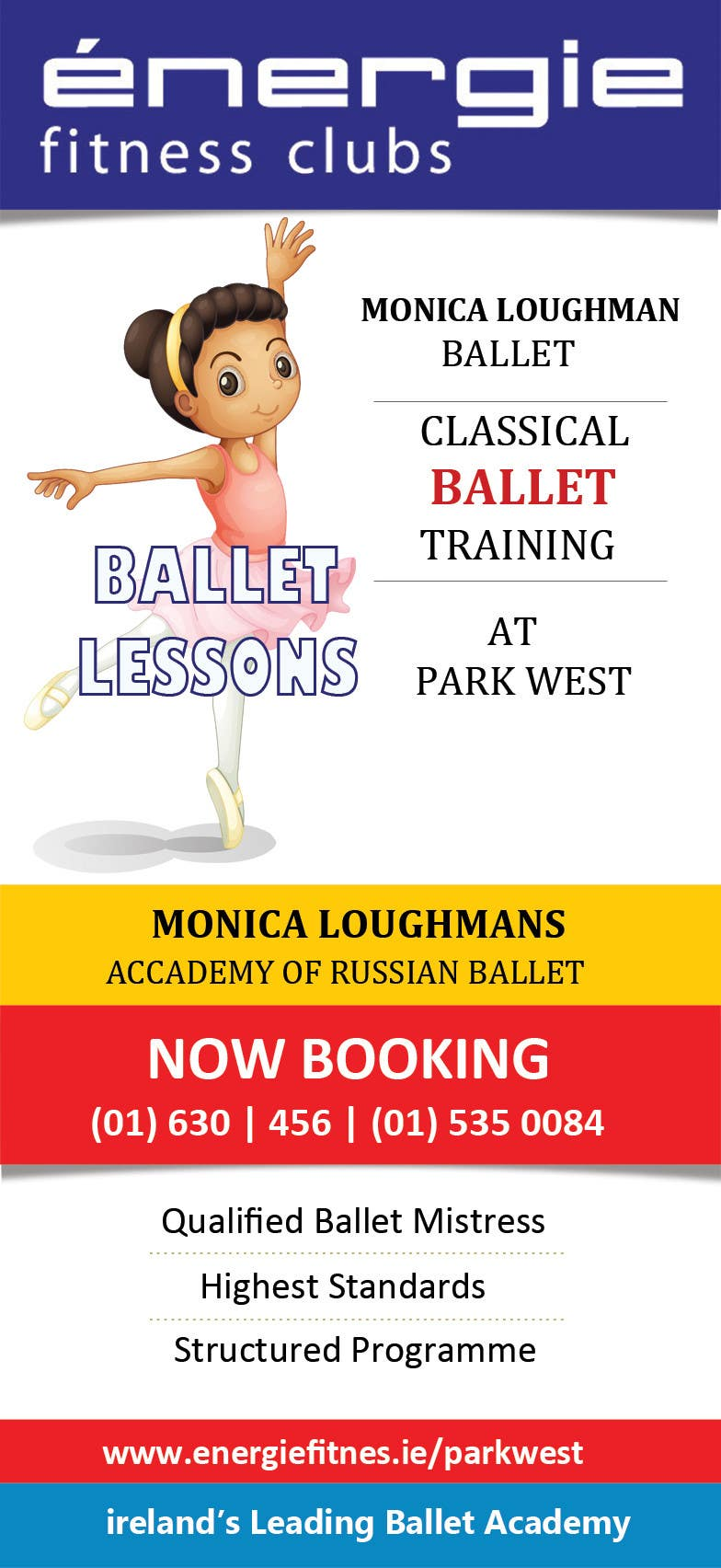 #35 for Design flyer for ballet school by mydZnecoz