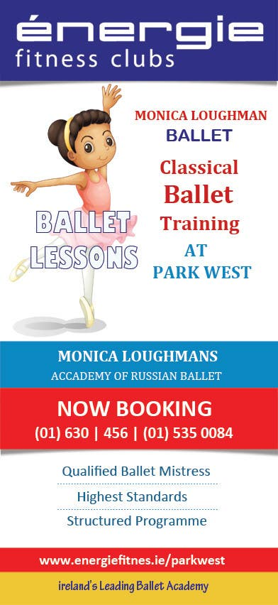 #41 for Design flyer for ballet school by mydZnecoz