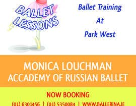 nº 4 pour Design flyer for ballet school par danildilawar