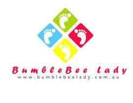 Nro 3 kilpailuun Design a Logo for BumbleBee Lady käyttäjältä carolinafloripa