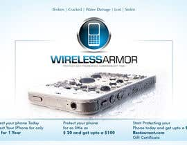#1 para Design a Flyer for Wireless Armor por Sahir75