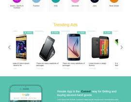 Nro 4 kilpailuun Draw a quick JPEG/TIFF Mockup of a website käyttäjältä zeeshanayaz1