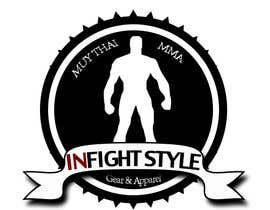 #40 for Design a Logo for online store INFIGHTSTYLE.com af DeriGaine