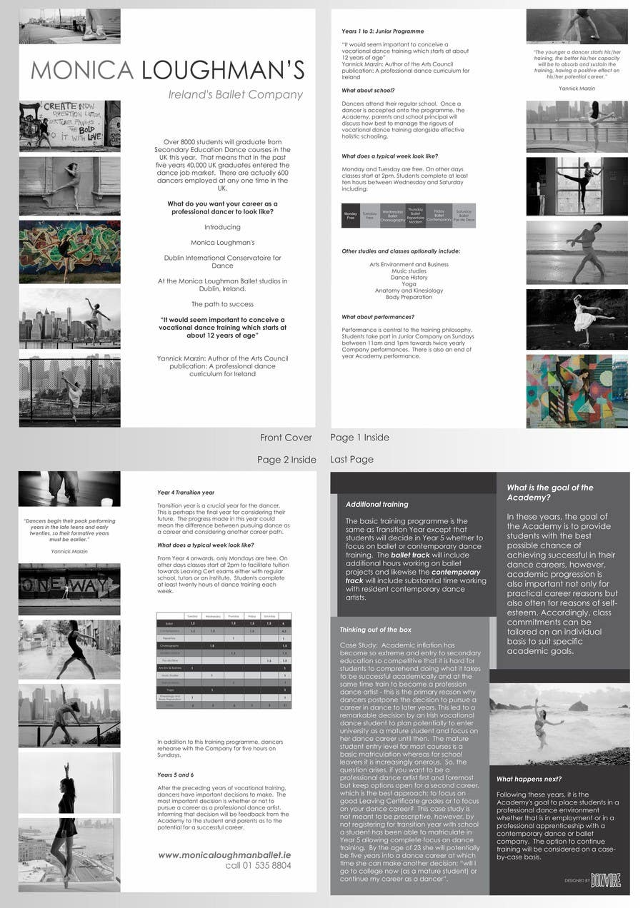 #32 for Design a Flyer for a prestigious dance academy by pablodonaire