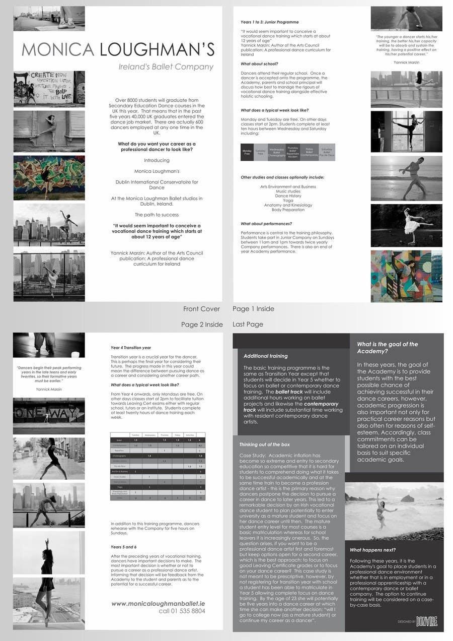 Proposition n°32 du concours Design a Flyer for a prestigious dance academy