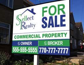 teAmGrafic tarafından real estate sign için no 3