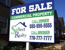 teAmGrafic tarafından real estate sign için no 4