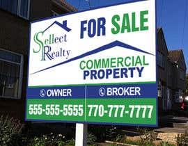teAmGrafic tarafından real estate sign için no 6