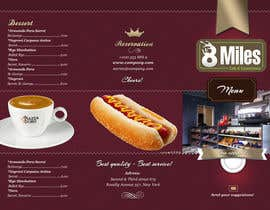 nº 10 pour 12 Page a3 Poster Menu For Cafe & Convenience Store par sammi67