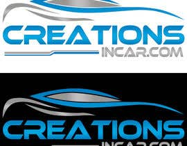 #13 para Design a Logo for Creations in Car por rivemediadesign