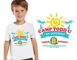 gidzibarra tarafından ToddU Summer Camp T Shirt Design için no 20