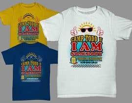 jiamun tarafından ToddU Summer Camp T Shirt Design için no 18