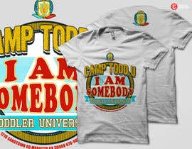Nro 10 kilpailuun ToddU Summer Camp T Shirt Design käyttäjältä dhido