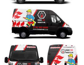 RaihanMuhammad tarafından Design a Wrap Advertising my Fire Safety Products business for my Truck için no 21
