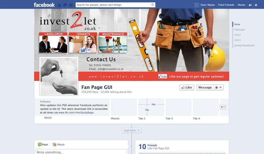 Penyertaan Peraduan #12 untuk Facebook Page Banner design