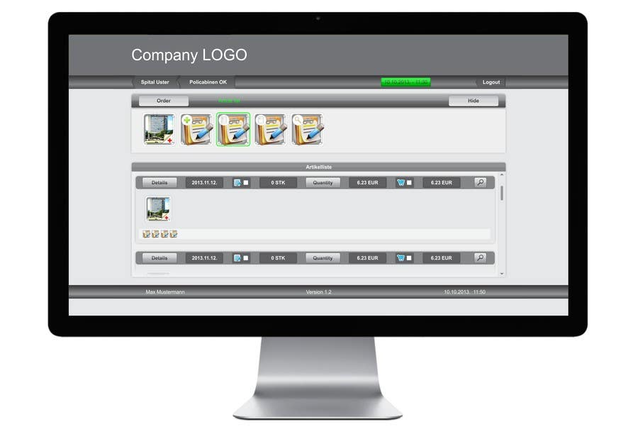 #2 for Design einer Webseite iPad-app to Web-app by Arttilla