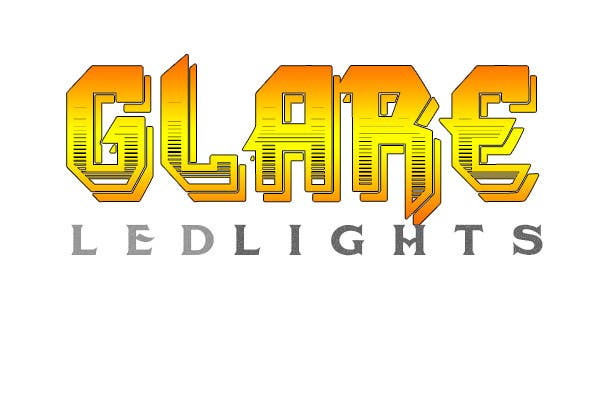 #20 for Design a Logo for Glare LED Lights by andreeagh90