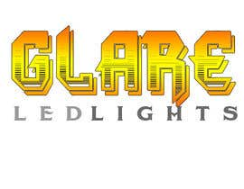 #20 para Design a Logo for Glare LED Lights por andreeagh90
