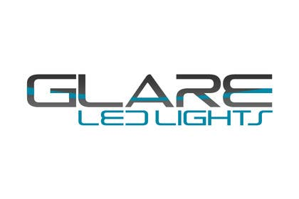 #14 for Design a Logo for Glare LED Lights by vladspataroiu