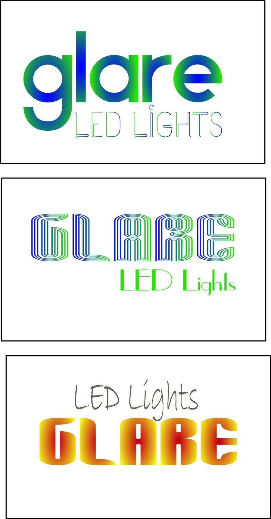 Konkurrenceindlæg #26 for Design a Logo for Glare LED Lights