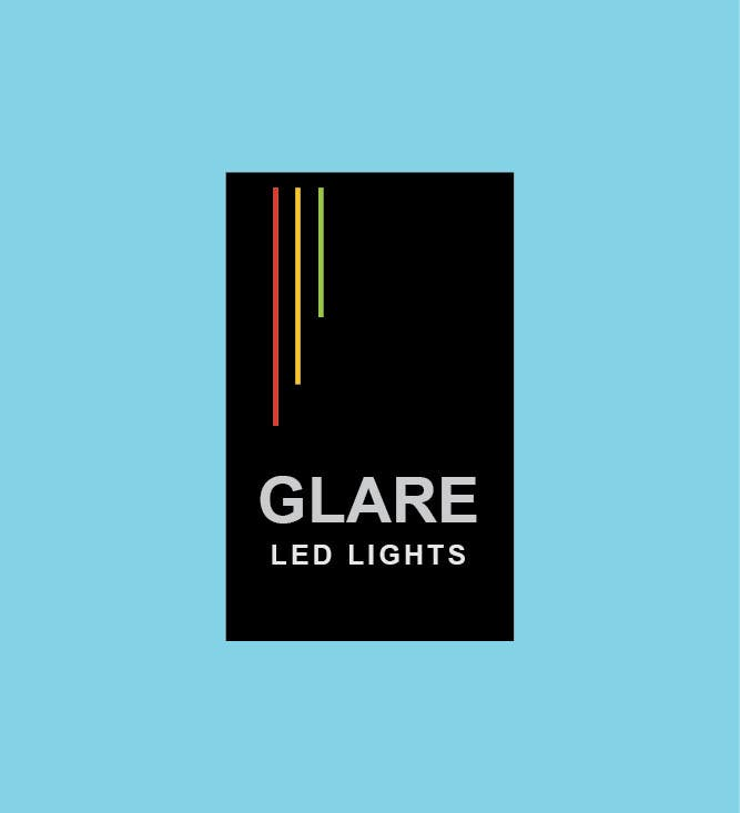 Konkurrenceindlæg #7 for Design a Logo for Glare LED Lights