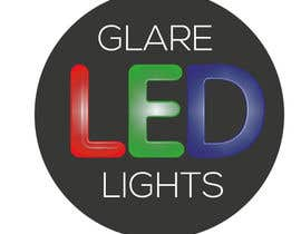 #10 para Design a Logo for Glare LED Lights por simo1975