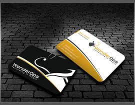 #31 untuk Design some Business Cards for WonderOps oleh kreativedhir