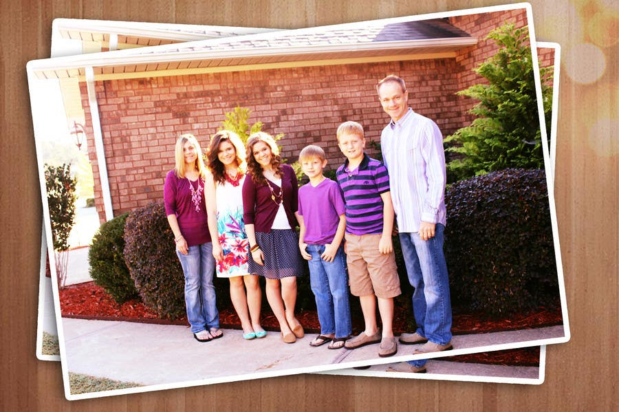 Konkurrenceindlæg #27 for Family Photo Enhancement