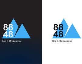 Nro 289 kilpailuun Design a Logo 88FortyEight Bar and Restaurant käyttäjältä praxlab