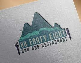 Nro 292 kilpailuun Design a Logo 88FortyEight Bar and Restaurant käyttäjältä deanmcloughlin
