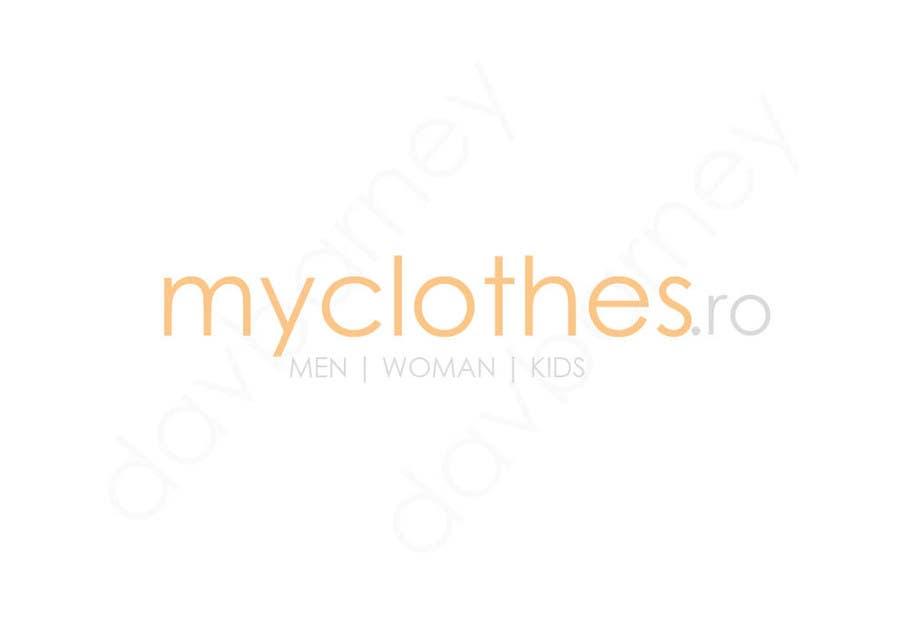 Kilpailutyö #22 kilpailussa Design a Logo for MyClothes.ro