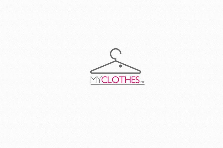 Kilpailutyö #11 kilpailussa Design a Logo for MyClothes.ro