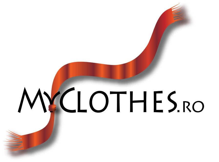 Kilpailutyö #31 kilpailussa Design a Logo for MyClothes.ro