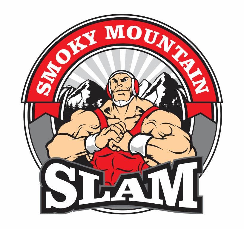Kilpailutyö #18 kilpailussa Design a Logo for Smoky Mountain Slam - Event Artwork