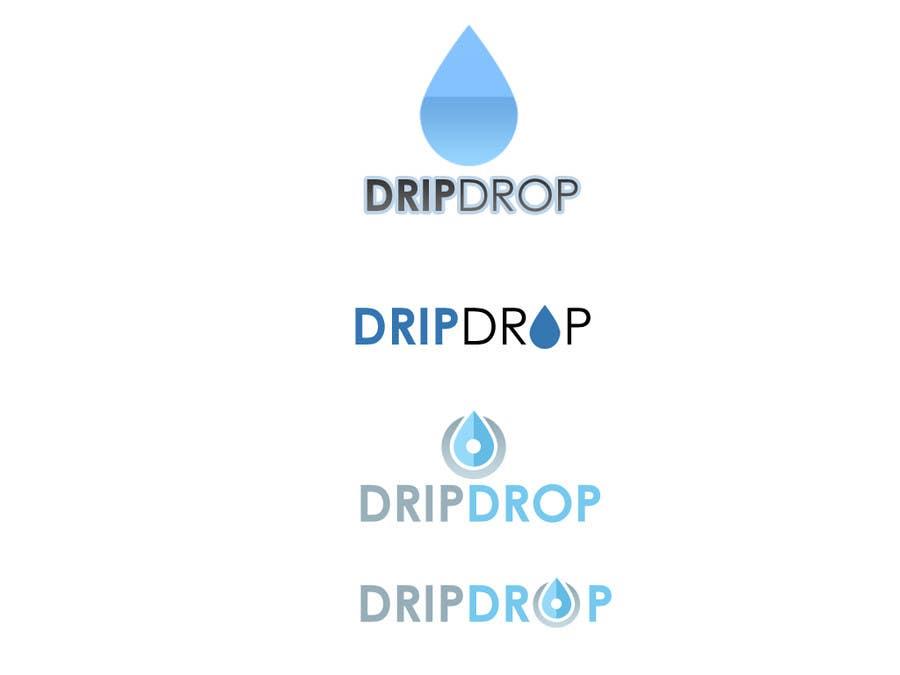 Kilpailutyö #26 kilpailussa Design a Logo for DRIP DROP