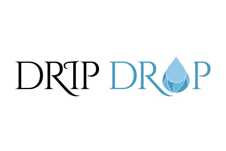 Kilpailutyö #38 kilpailussa Design a Logo for DRIP DROP