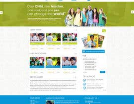 #55 cho Design a Website Mockup for educational online magazine for children bởi MagicalDesigner