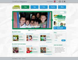#35 cho Design a Website Mockup for educational online magazine for children bởi duydk
