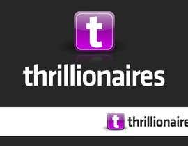 #161 cho Logo Design for Thrillionaires bởi firethreedesigns