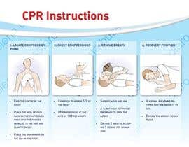 #9 untuk Reillustration of CPR Instructions. oleh elenabsl