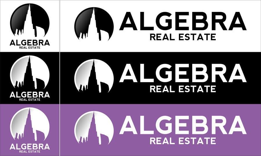 Penyertaan Peraduan #17 untuk Design a Logo for Algebra Real Estate