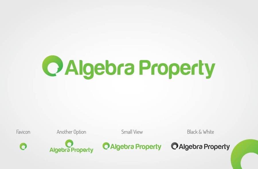 Penyertaan Peraduan #7 untuk Design a Logo for Algebra Real Estate