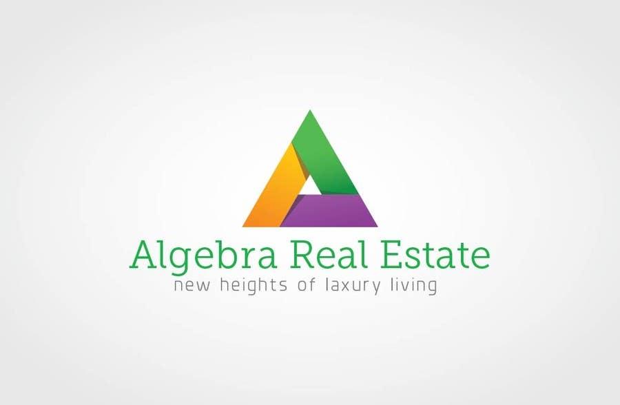 Penyertaan Peraduan #33 untuk Design a Logo for Algebra Real Estate