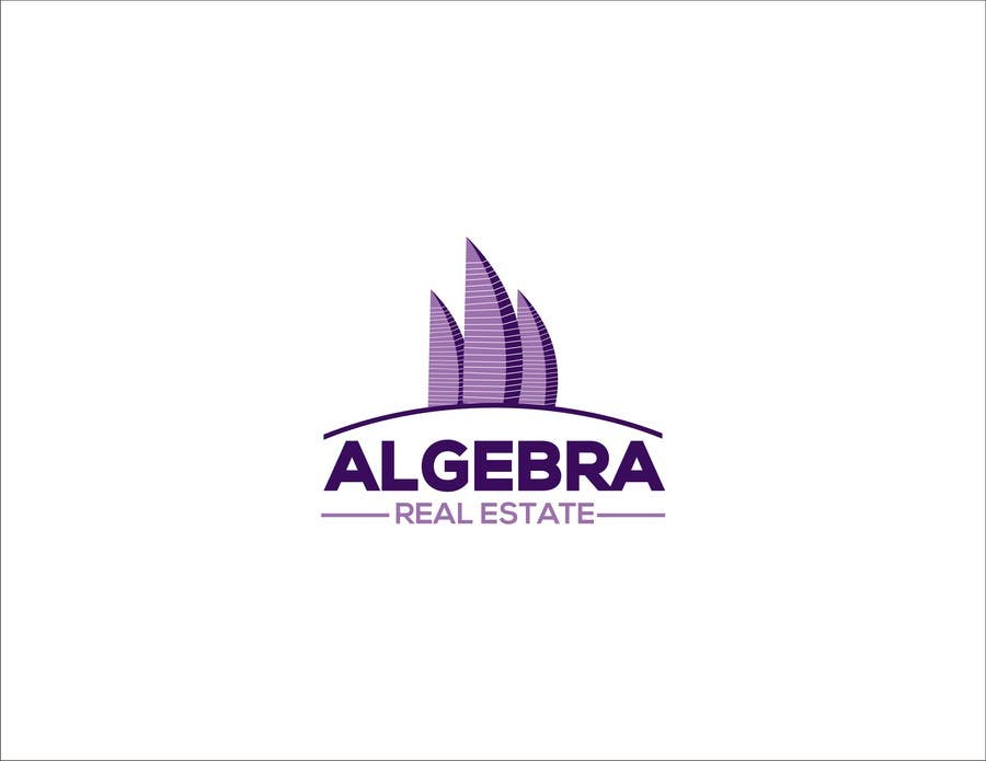 #85 for Design a Logo for Algebra Real Estate by sanpatel