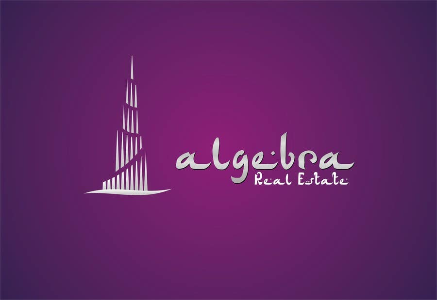 #25 for Design a Logo for Algebra Real Estate by shobbypillai